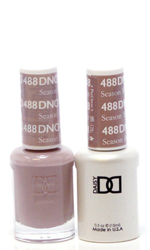 DND Soak Off Gel Polish Dual Matching Color Set 488, Season