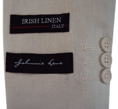 Johnnie Lene Boys Cotton//Linen Natural Summer Suit From Baby to Teen