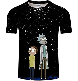 081be6999 Cartoon Rick and Morty Fashion and Leisure of T-shirts for Men and Women in