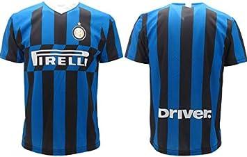 Camiseta Inter original 2019 2020 Neutra Adulto Niño Sin Nombre (Lukaku Sensi Asamooah Poliitano): Amazon.es: Deportes y aire libre
