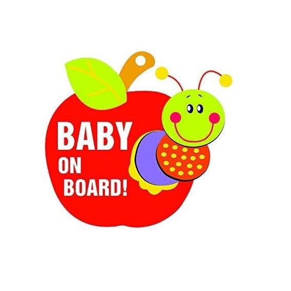 Billy Bum Baby On Board (Apple)