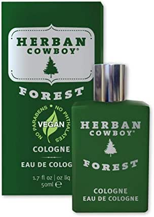 Herban Cowboy Men's Cologne, Forest, 1.7 Ounce