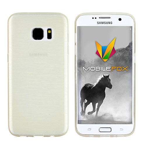 Mobilefox Paul Cover Schutzhülle Soft Case Samsung Galaxy S7 Edge Weiß