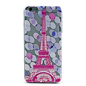 ZXSPACE Emboss TPU Colored Drawing Back Cover Case for iPhone 6 Plus