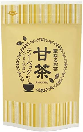 【甘茶】【ティーバッグタイプ(1g×15p)】【無添加】【九州福岡県八女産100%】九州産甘茶