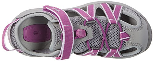 Teva W Rosa, Zapatillas de Atletismo para Mujer Varios Colores (Grey/dark Purple)