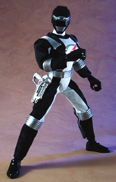 Power Rangers Operation Overdrive Japanese 12 Inch Action Figure Black Ranger