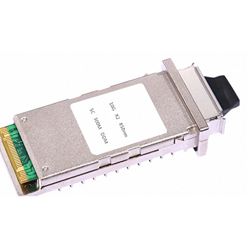 Macroreer Cisco X2-10GB-SR Compatible 10GBASE-SR X2 Transceiver Module 850nm 300m by Macroreer