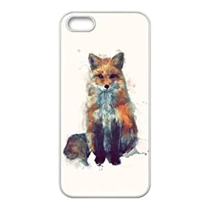 custom iphone5,iphone5s Case, fox cell phone case for iphone5,iphone5s at Jipic (style 1)