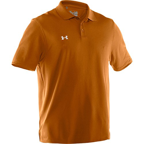 Under Armour - Polo - Uomo Texas Orange/White