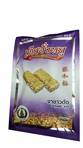 Sesame Bar, Premium Snack From Khonkaen, Thailand.