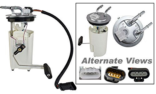 (APDTY 15050444 Fuel Gas Pump Module Sender Sending Unit Assembly w/Wiring Harness Fits Select 2002-2004 Chevrolet Buick GMC Oldsmobile Vehicles (Replaces 15050444, 8150504440, 88966952))