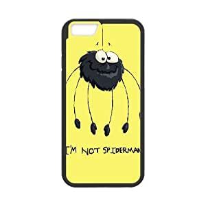 Crazy Spider Image On Back Phone Case For iPhone 6,6S