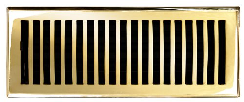Polished Brass Air Return - 7