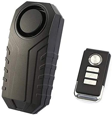 Wendry Motorrad Alarm System,Fahrrad Alarmanlage Drahtlose Alarm Sicherheitsschloss Motorrad Alarm,6 Arten des Alarmtons//Unterst/ützen die Fernbedienung des Klingelns