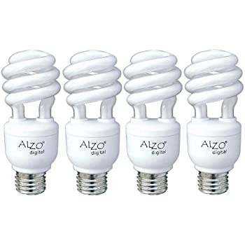 ALZO 15W Joyous Light Full Spectrum CFL Light Bulb 5500K, 750 Lumens, 120V,