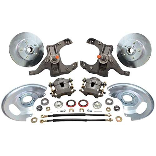 - 1963-1970 Fits Chevy 1/2 Ton Pickup Drop Spindle Disc Brake Kit