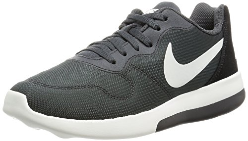 Nike Sportswear Md Runner 2 Lw Womens Casual Sneakers Moderno Leggero Scarpe Da Corsa Nero Lupo Grigio 001