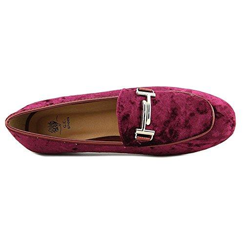 Gc Scarpe Da Donna Billie Velluto Fannullone Slip On Shoe Bordeaux