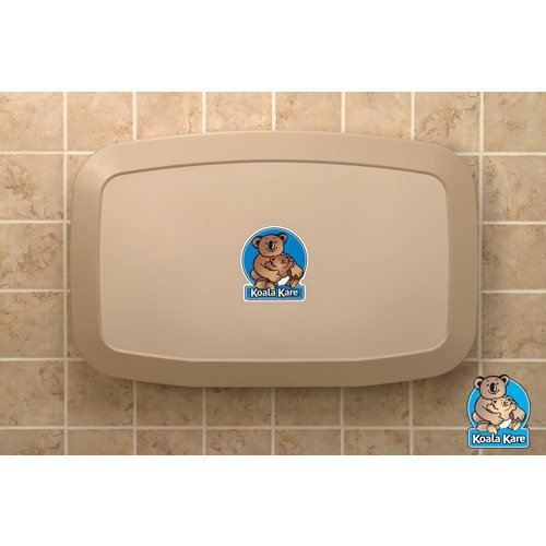 (Koala Kare KB200-11 Horizontal Wall Mounted Baby Changing Station,)