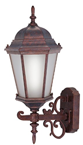 Livex Lighting 9026-18 1 Light Outdoor Wall Lantern, Weathered Brick