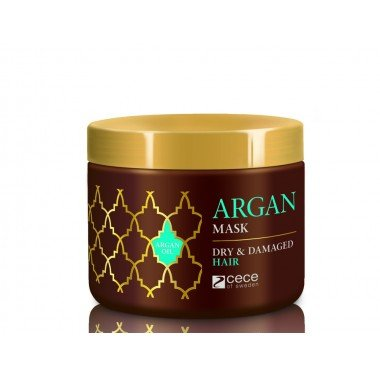 ARGAN Mask for Dray & Damage Hair 250ml CeCeMed