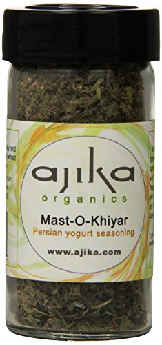 Ajika Organic Mast-O-Khiyar- Persian Yogurt Seasoning, 2-Ounce by Ajika