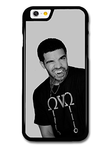 Drake Biting Chain Black & White coque pour iPhone 6