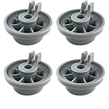 Amazon.com: Pack de 4 ruedas de riel inferior para ...