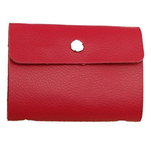 Eysee - Cartera de mano para mujer Rojo rosa (b) 10.50cm*7.20cm*1.00cm rosa (b)