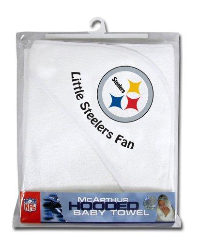 NFL Pittsburg Steelers Hooded Baby Towel