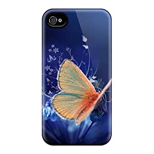 Anti-Scratch Cell-phone Hard Cover For Iphone 6plus (eGM18030vYox) Custom Fashion Butterfly Skin