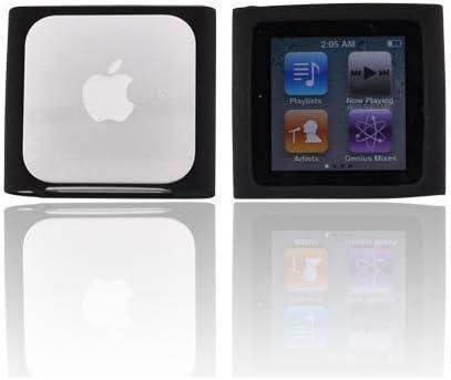 Amazon Com Premium Black Soft Silicon Gel Skin Case Cover For The Apple Ipod Nano 6 Gen 6th Generation Mp3 Players Accessories