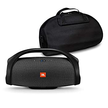 Image of Boomboxes JBL Boombox Portable Bluetooth Waterproof Speaker Bundle with Hardshell Storage Case - Black