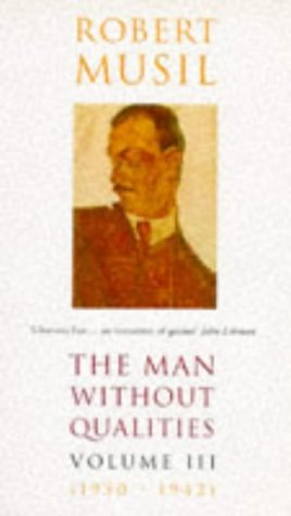 Book cover for The Man Without Qualities
