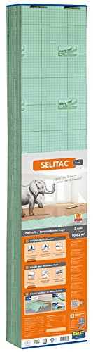 Selitac Parquet and Laminate Underlay 3 mm by Selit