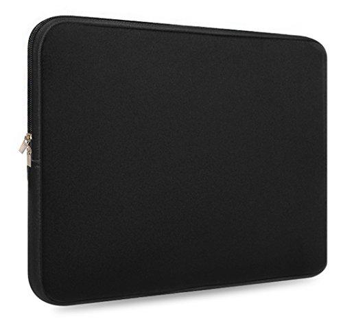 5.6 Inch,resistant Neoprene Laptop Sleeve/Notebook Computer Pocket Case/Tablet Briefcase Carrying Bag/Asus/Dell/Fujitsu/Lenovo/HP/Samsung/Sony/Toshiba,(Black) (Fujitsu Briefcase)