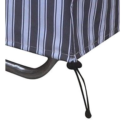 BBQ Coverpro Zebra Series - Waterproof Heavy Duty Chaise Lounge Cover (78