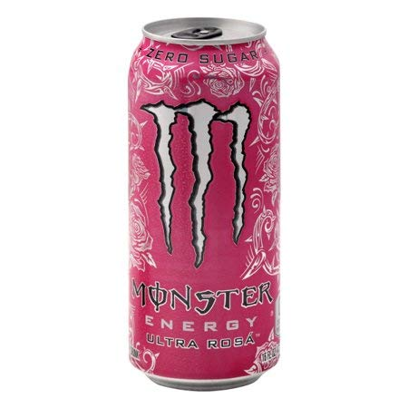 Amazon Com Monster Energy Drink Ultra Rosa 16 Oz Can Pack Of 12 Grocery Gourmet Food
