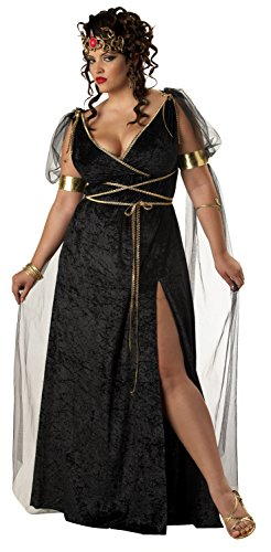 (California Costumes Women's Plus-Size Medusa Plus, Black,)