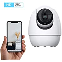 homectrl Wonbo Wireless Surveillance Pet Baby Dog Monitor IP Camera with 2.4G WiFi Two-Way Audio IR Night Vision (Android/iOS)