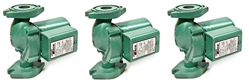 Taco 007-F5-7IFC Cast Iron Circulator Pump with Integral Flow Check (Pack of 3)