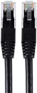 Internet Cable by Kumo, Black, 30 CM