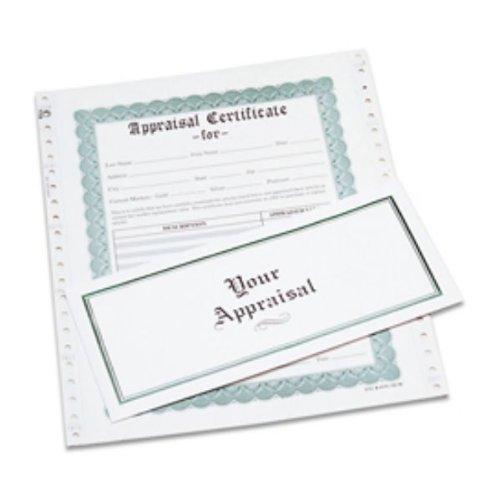 Appraisal Certificates, Box of 100 | APR-100.00