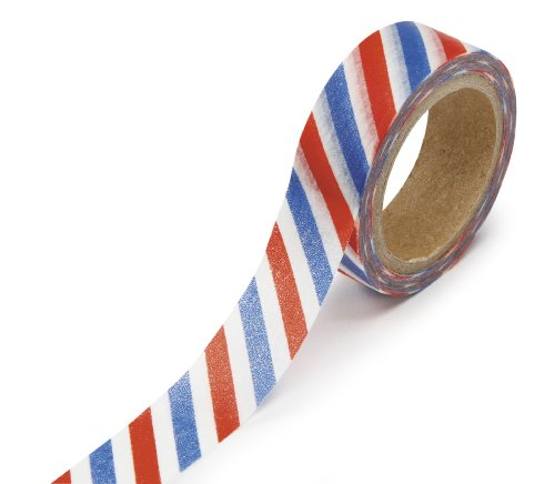 DARICE 1217-114 Washi Tape Roll, 5/8 by 312-Inches,