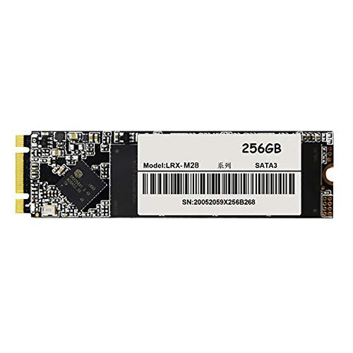 Semoic 256GB NGFF M.2 SSD 2280 SATA3 Interface Solid State Hard Drive, Suitable for Desktop/Laptop Universal Hard Drive