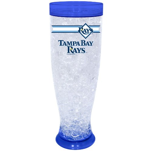 MLB Tampa Bay Rays Ice Pilsner Glass ()