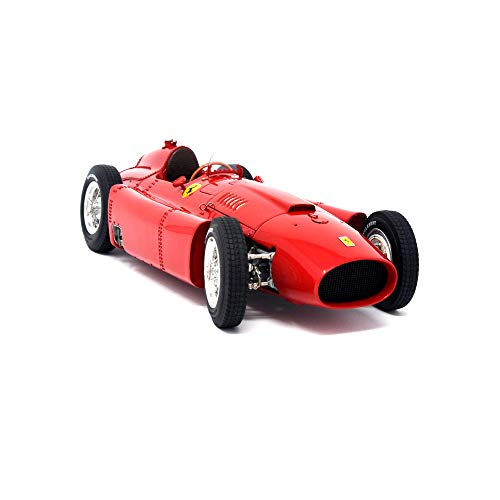 CMC-Classic Model Cars, USA Ferrari-Lancia Short-Nose D50, Red 1:18 Scale Detailed Assembled Collectible Historic Antique Vehicle Replica