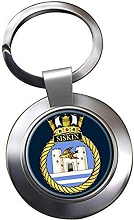HMS Siskin Chrome Keyring  Amazon.co.uk  Clothing 611ef95ae