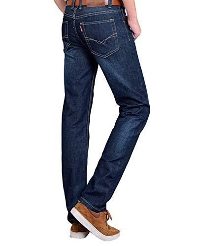 Denim Slim Base Uomo Dritta In Di Da Retrò Alla Dunkelblau4 Moda Regular Abbigliamento A Pantaloni Gamba Jeans Casual x8wRqIt8C